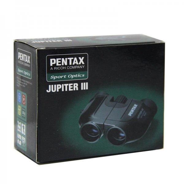[dualmediascout] Pentax 8X21 Jupiter III Fernglas - Schwarz , K1-5 24,99€