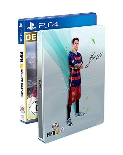 [amazon.co.uk] FIFA 16 Deluxe - Steelbook Edition (PS4 / Xbox One)