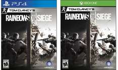 Tom Clancys Rainbow Six Siege inkl. DLC - PS4 & XBO - 46,90 € inkl. VK [Gameware.at]