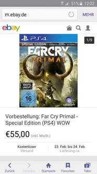 Far Cry Primal Playstation 4
