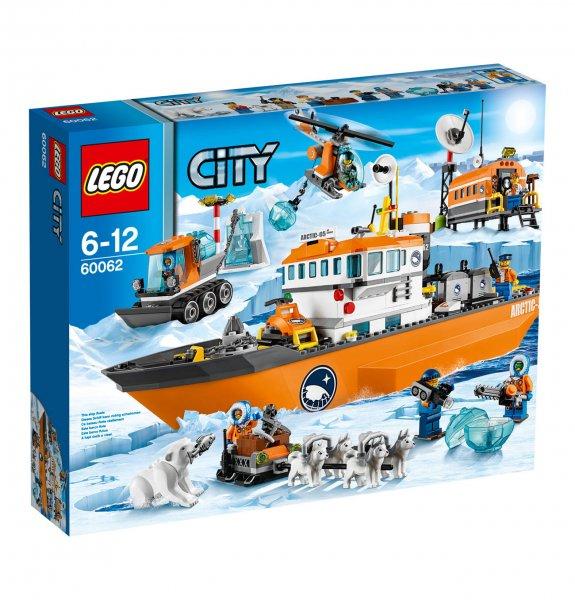 Wieder Lego City Arktis Eisbrecher 60062 bei galeria zu haben!