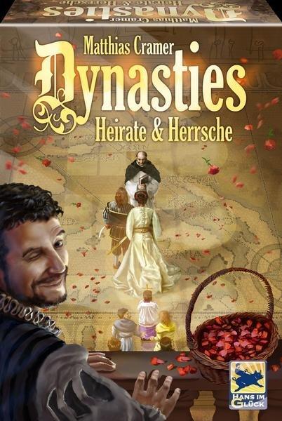 [Spiele-Offensive.de] Dynasties: Heirate & Herrsche (Brettspiel)