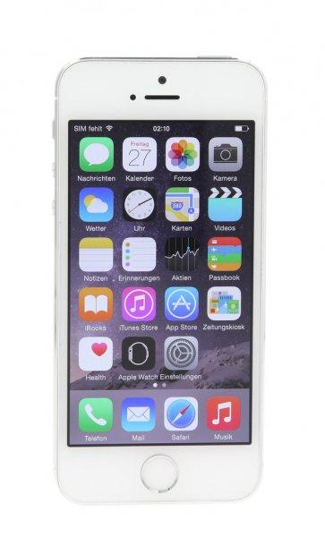 gebrauchtes Apple iPhone 5s 16GB spacegrau/silber/gold frei für alle Netze - ab 259,-€ mit 30 Monaten Garantie