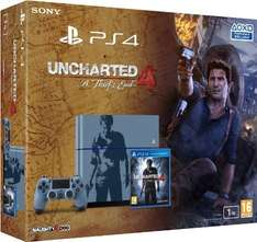 PS4 1TB Version Uncharted 4 Bundle Limited Edition Uncharted Design für 430,21€ @Amazon Frankreich