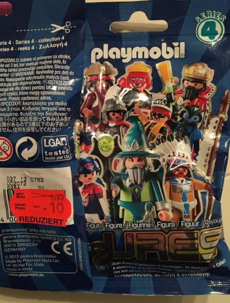 Kaufland Ahlen (lokal) Playmobil Serie 4 Figuren 10cent statt 1,99