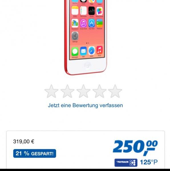Apple iPod touch 5g 64gb für 250€ (Real.de)