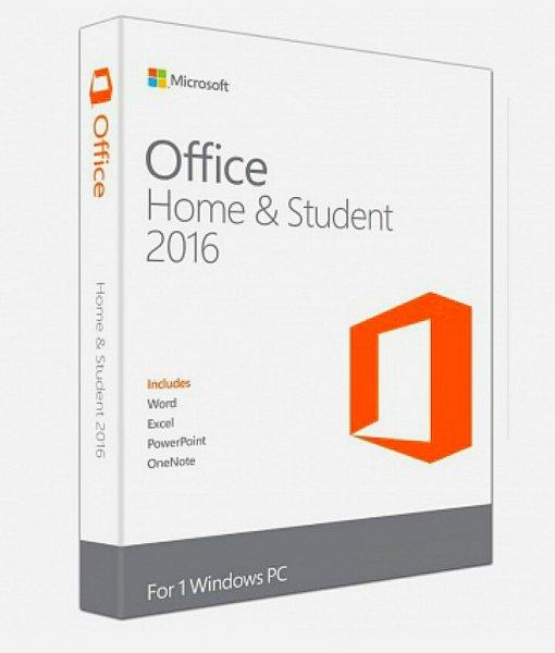 (Rakuten.de online) Microsoft Office 2016 Home and Student Vollversion Lizenz Key