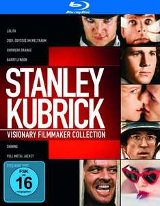 Amazon Prime] Stanley Kubrick Collection [7 Blu-ray Filme] für 20,38€ inkl. Versand