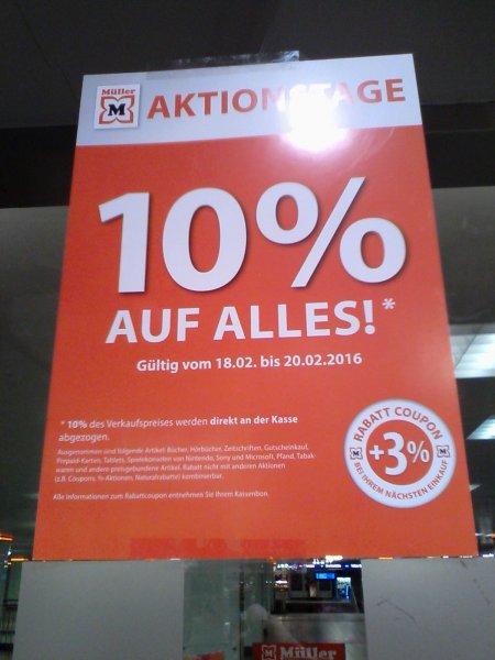 evtl. lokal: Müller, Berlin, fast 14 % bis zum 20.02.: