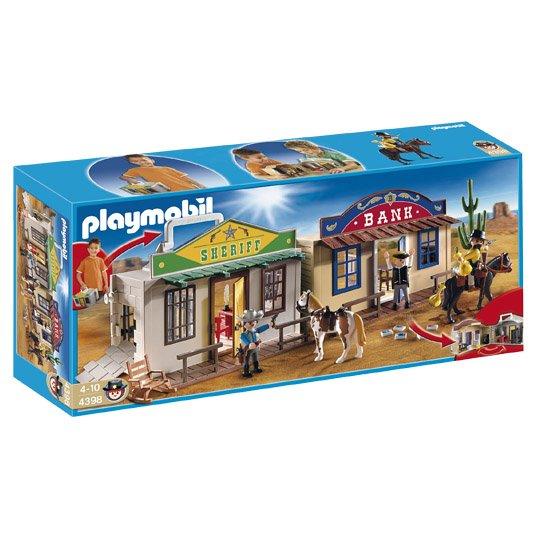 Real - Playmobil (4298) Mitnehm-Western City (bei Abholung im Markt)