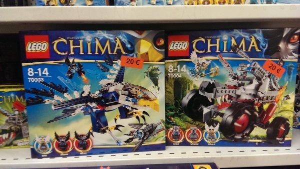 """""""Lokal Münchberg 95213 Spielzeugland""""  Lego Chima 70004 Wakz Wolfstracker und diverse andere Legosets günstiger"""