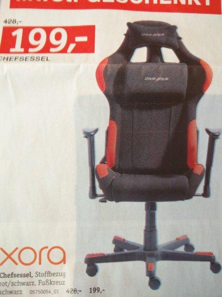 Nun auch ONLINE[XXXL Bierstorfer HN] DX Racer 1 Chefsessel Schwarz/ Rot -21% für 199€