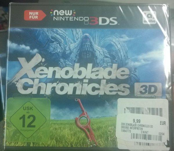 [Lokal Saturn RRZ?] Xenoblade Chronicles 3D und weitere