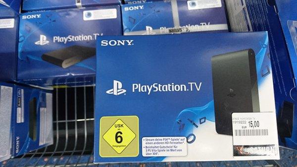 Playstation TV @Saturn Stuttgart