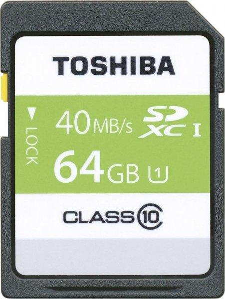 [Mediamarkt] Toshiba SDXC Class 10 / U1 mit 64GB für 12€