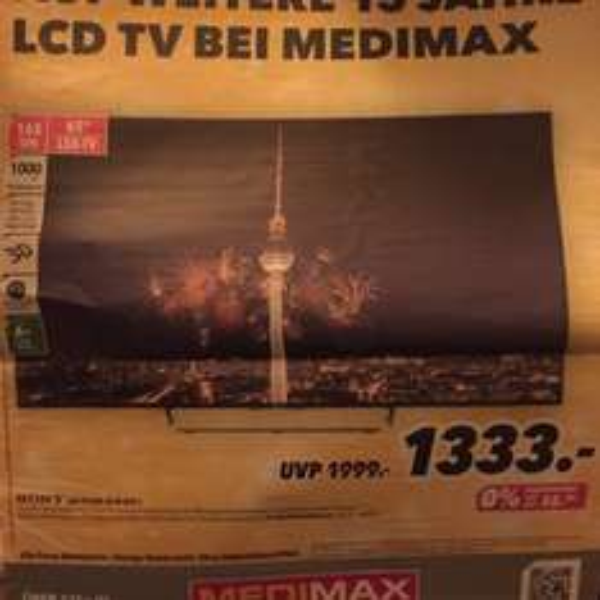 [Medimax] Sony KDL65W859C