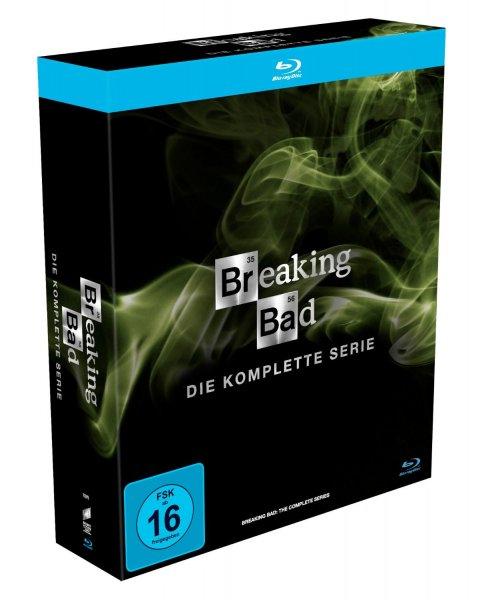[Amazon] Breaking Bad - Die komplette Serie (15 Blurays, Neuauflage) für 59,97€