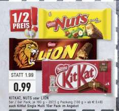 [EDEKA E-CENTER] Lokal KitKat Nuts o. Lion 99Cent