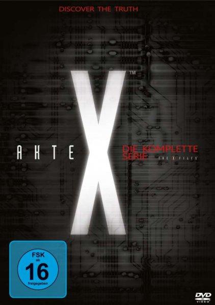Akte X Staffel 1-9 bei Saturn Nur Heute 59,00€