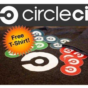 [CircleCI} Gratis T-SHIRT & Sticker CircleCI **Größe S-X2** Women & Men [Schnell sein]
