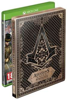Assassin's Creed: Syndicate + Steelbook für Xbox One inkl. Vsk für 24 € > [amazon.uk]