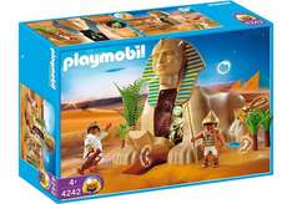 Playmobil Ägypter Sphinx mit Mumienversteck (4242)