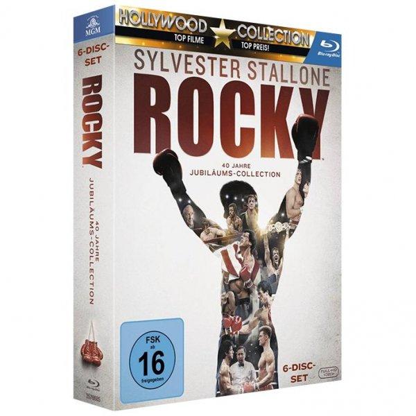 Rocky - The Complete Saga (Blu-Ray) für 22€ bei EMP