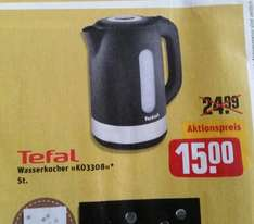 Rewe Center: Tefal Wasserkocher 15 €