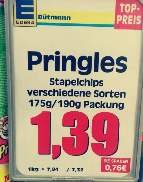 Pringles 1,39€ Edeka Dütmann Bad Iburg
