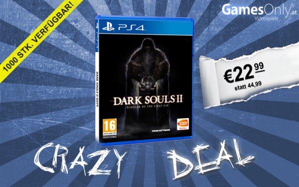 [Gamesonly.at] Dark Souls II PS4 mit wenig Aufwand für 28,99€