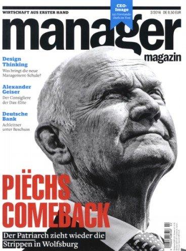 """5 Ausgaben """"manager magazin"""" für effektiv 7,65€ durch 20,00€ Amazon-Gutschein bzw. 12,65€ durch 15,00€ Verrechnungsscheck"""