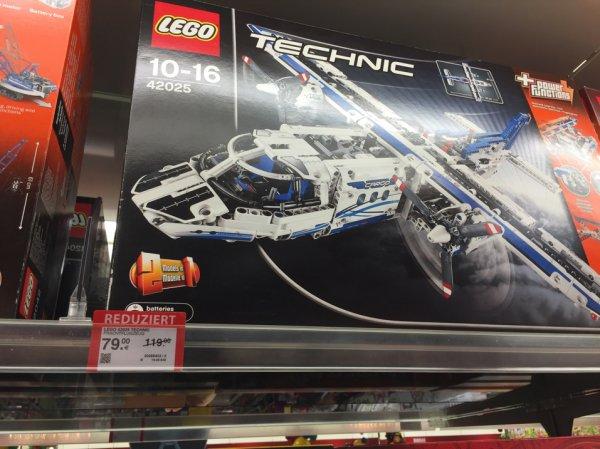 (Lokal? Halle) Müller Lego Technic Frachtflugzeug 42025