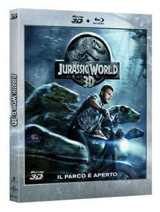 Jurassic World (3D Blu-ray + Blu-ray) für 17,04€ bei Amazon.it