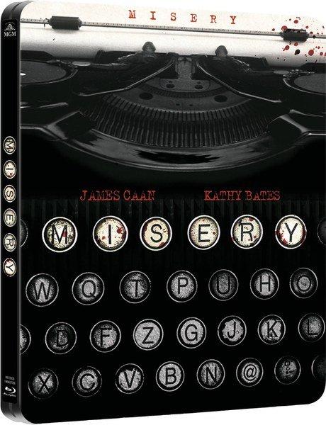 Misery - Limited Edition Steelbook (Blu-ray) für 12,15€ bei Zavvi.de