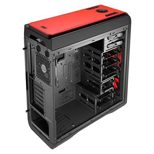 """[Amazon.fr] Aerocool DS 200 PC-Gehäuse """"Red Edition"""" (ATX + mATX, schallgedämmt) für 82,54€"""