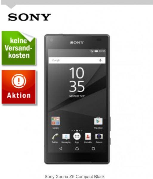 Sony Xperia Z5 Compact mit €20,- Einkaufsgutschein