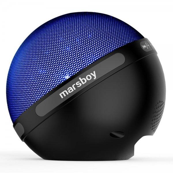 [Amazon] Marsboy Bluetooth Lautsprecher mit LED Farbwechsel in 7 Farben 6€ Rabat