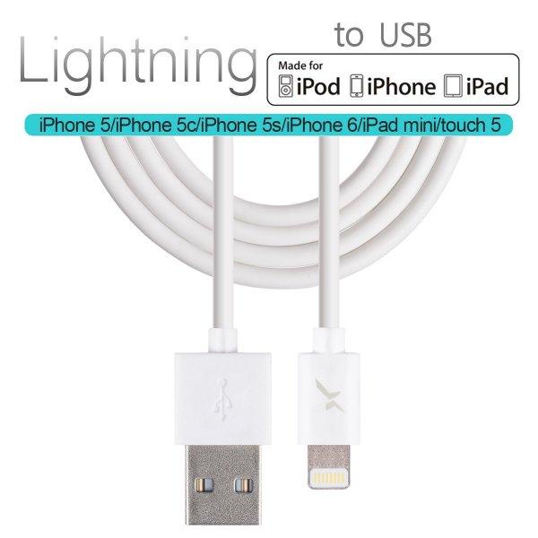 (ebay) apple mfi zertifiziert lightning kabel 2m für 5€ inkl. versand