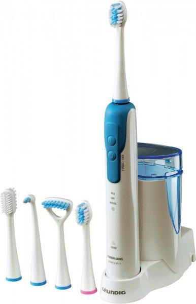 [2% Qipu] Grundig Elektrische Zahnbürste TB 7930 Clean-White-Plus Schallzahnbürste Weiß, Hellblau für 23,89€ frei Haus @Voelkner