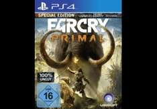 Far Cry Primal PS4 Special Edition bei Saturn mit Newsletter Gutschein (Preis gilt bei Abholung)