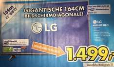 "[Euronics] LG 65UF6809 4K 65""'LED TV für 1499,- €"
