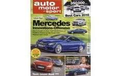 Auto, Motor & Sport Jahresabo für 3,90€ (Direktrabatt, nur für Neukunden)