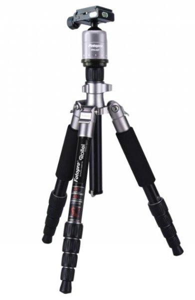 Super DSLR/Kamera-Stativ: Rollei Compact Traveller No.1 titan für (Amazon) 83,21€