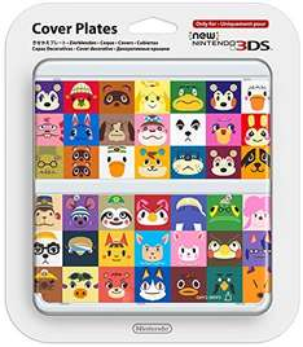 [Amazon.de WHD] New Nintendo 3DS Zierblenden Animal Crossing für knapp 4€ als Primemitglied / sonst zzgl. 3€ Versand
