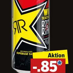 [Lidl] Rockstar Energy Drink 500ml Dose am 5.3. nur 0,85 €