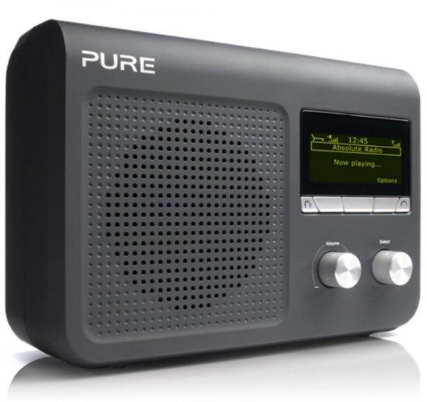 [Technik-Profis] Pure VL-61868 One Flow Internet-Radio (DAB/DAB+/UKW-Radio, W-LAN) schwarz