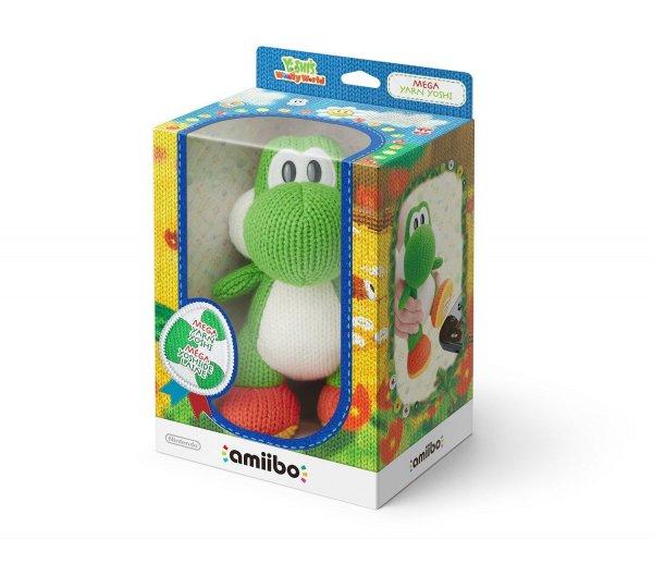 Nintendo amiibo Mega Woll-Yoshi für 20€ plus 4,99€ Versand bei comtech
