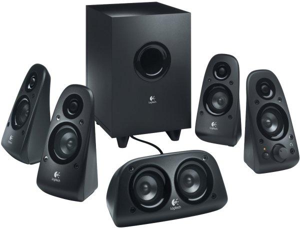 (amazon) BESTPREIS Logitech Z506 5.1 Lautsprechersystem schwarz