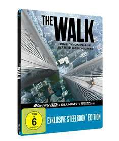 The Walk - Lenticular Steelbook-Edition [ 3D Blu-ray + 2x Blu-ray] für 19,90€ bei Media Markt
