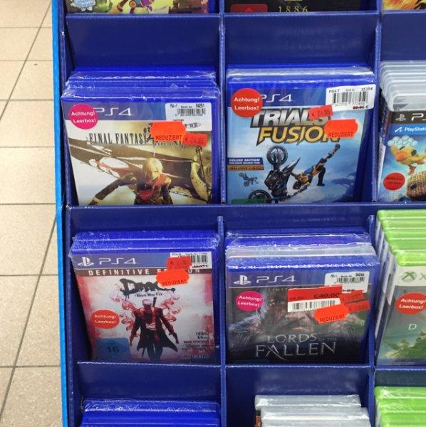 PS4 Spiele sehr günstig bei REAL Scharnhauser Park evtl. Bundesweit?
